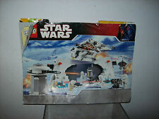 LEGO HOTH REBEL BASE 7666 MANUAL ONLY TORN COVER