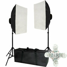 New Photo Studio Photography Video Continuous Light Soft Box Kit 1Year Warranty