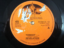 """Revelation Tonight UK 12"""" Kingdom Lovers Rock 1981"""