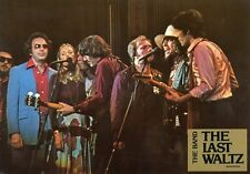 BOB DYLAN JONI MITCHELL THE BAND THE LAST WALTZ SCORCESE 1978 LOBBY CARD #17