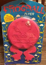 FrogBall Flyer The Awesome Airborne Amphibian Vintage Toy NEW