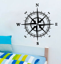 Home Decoration Wall Paper & Art viny removable Sticker WS51 Compass Rose
