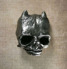 Belial Belt Buckle - SMALL Pewter Goetia Lesser Key of Solomon Demon Devil Imp