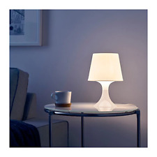 New Table lamp LAMPAN White Beautiful Simple Bedroom Hall Room Study Lamp 29cm