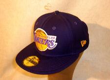 LOS ANGELES LAKERS CAP   ** PURPLE NEW ERA ** SIZE 8 ** NBA- HW CLASSIC