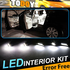 14PCS White LED Canbus bulbs Interior Package Kit for 2003-2006 BMW 325i E46/210