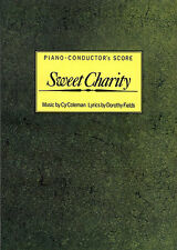 Cy Coleman Sweet Charity Piano-Conductor's Score Learn to Play Music Book