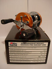 ABU GARCIA Ambassadeur 6500CS PRO ROCKET Reel (ORANGE) RIGHT HAND WIND
