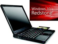LENOVO WIN10 IBM THINKPAD LAPTOP NOTEBOOK R60e NETBOOK WINDOWS 10 - GUT ERHALTEN