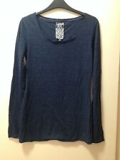 Women's Ladies Next navy blue long sleeve top size 12 uk