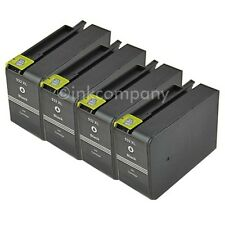 4 Patronen für HP 932 XL schwarz Officejet 6100 Eprinter 6600 E-All-In-One 6700