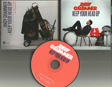 ANDY GRAMMER Keep Your Head up ULTRA RARE PROMO RADIO DJ CD single 2010