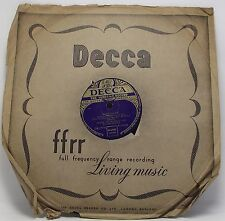 """FRANK CHACKSFIELD & HIS ORCHESTRA  : LIMELIGHT 78 rpm 10"""" Record"""