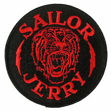 Authentic SAILOR JERRY Tiger Bolt Logo Sew Or Glue On Patch NEW