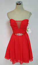 MASQUERADE Red Dance Homecoming Party Dress 7 - $80 NWT