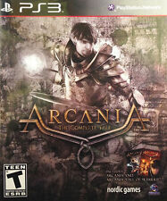 ARCANIA: THE COMPLETE TALE PS3 RPG NEW VIDEO GAME