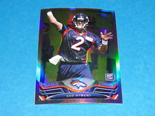 2013 TOPPS CHROME Zac DYSERT #5 Rookie Refractor RC Denver BRONCOS Miami OHIO