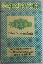 Playing Cards Las Vegas Tropicana Casino New Collectible Souvenir Sealed Deck
