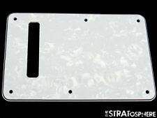 *NEW LEFTY White Pearloid TREMOLO COVER for Fender Standard Stratocaster Strat