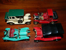 lot 4 VOITURE CAR england LESNEY models of yesteryear
