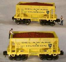 RMT/READY MADE TRAINS ORE CAR SET w/ORE LOAD D&H/DELAWARE & HUDSON O GAUGE