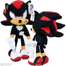 "Shadow Black Sonic the Hedgehog Large Plush 32"" Plush Doll by Sega-New w/ Tags"