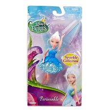 "Disney Fairies - 4.5"" Sparkle Collection Doll - Periwinkle BRAND NEW"