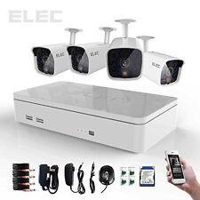 ELEC 4Ch 700TVL HDMI DVR Outdoor Home CCTV Security Camera System (351394209730)
