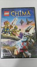 LEGO LAS LEYENDAS DE CHIMA CHI TRIBUS Y TRAICIONES 2 X DVD NEW NUEVO!!!