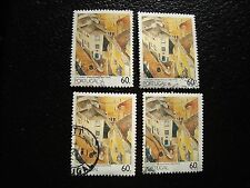 PORTUGAL - timbre yvert et tellier n° 1748 x4 obl (A28) stamp (Y)