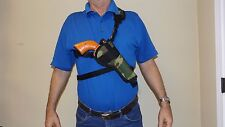 "Right Hand CAMO Bandoleer Shoulder CHEST Holster RUGER REDHAWK w/ 7-1/2"" barrel"