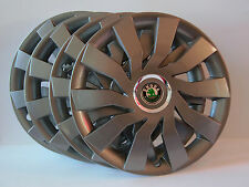 "16"" Skoda Fabia,Roomster,Octavia,etc...Wheel Trims / Covers, Hub Caps,Quantity 4"