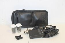 Shure SM83 Lavalier microphone amplifier with case