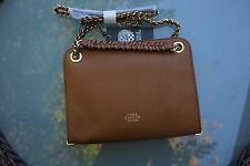 Vince Camuto Jenni Leather Crossbody Handbag Cedar NWT