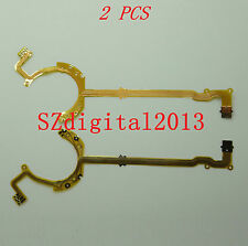 2PCS/ Lens Shutter Flex Cable for CANON G10 G11 G12 Digital Camera Repair Part
