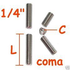 """Grano , vite in acciaio INOX da 1/4"""" pollice tipo foto ID 5777"""