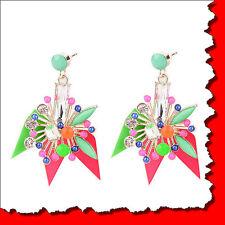 MARNI H&M Crystal Flower Earrings
