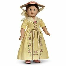 American Girl Doll  Felicity's Tea Lesson Gown Outfit NEW!!  retired