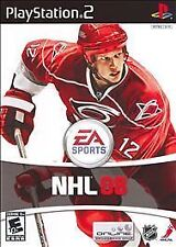 NHL 08 (Sony PlayStation 2, 2007) Video Game