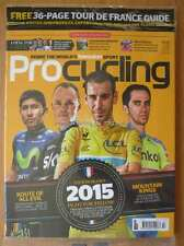 ProCycling July 2015 Tour de France Chris Froome Nibali Contador Quintana Giro