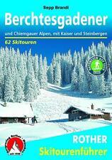 Berchtesgadener und Chiemgauer Alpen / Rother Skiführer (2015)