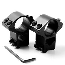 """One Pair of 1"""" Laser / Scope Ring Mount for 11mm Dovetail Rail - High Profile"""