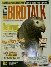 **BIRD TALK MAGAZINE Jun 04 African Grey Parrot Teach Trick Easier Cage Cleaning