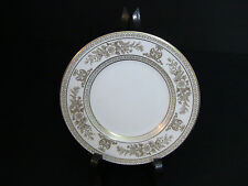 """Wedgwood Columbia Gold White Bread & Butter Plates 6"""" / Set of 8"""