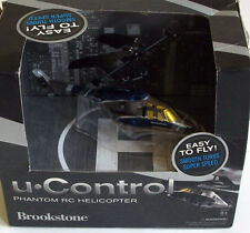 U Control BROOKSTONE phantom RC helicopter New In Box unopened MIB