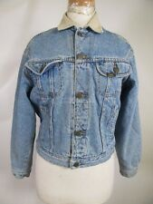 VTG Lee Button-Up Blanket Lined Denim Jean Jacket Size L 10035