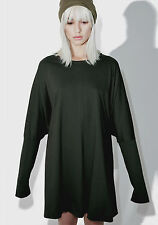NEW NWT MNML DARK GREEN TUNIC TOP DRESS PURSUIT OF DARKNESS DUNE 1 SIZE FITS ALL