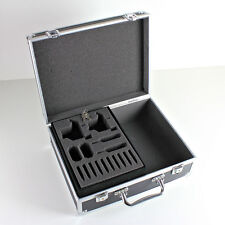 NEW Portable Black Tattoo Kit Carrying Case Aluminum Lightweight w/ Lock and Key