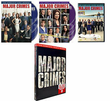Major Crimes Complete All Season 1-4 DVD Set TV Show Series Collection Video Lot
