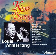 KINGS OF SWING 3 : LOUIS ARMSTRONG / CD - NEUWERTIG